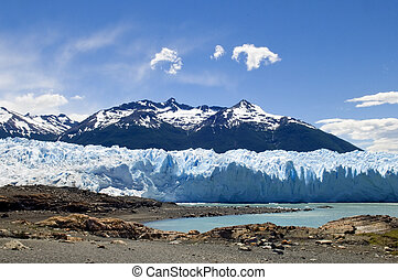 glaciers of Argentina - photo was taken on the glacier...