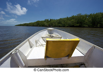 Mangue Seco, Bahia, Brazil - Boat trip on the Real River to...