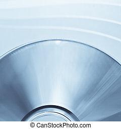 disk closeup - close up of a disc