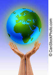 World in My Hands - Do the very best, the world is in your...