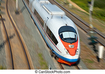 High-speed passenger train