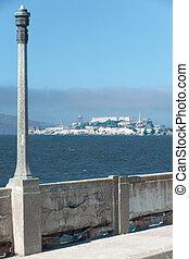 Alcatraz Prison Walled Promenade