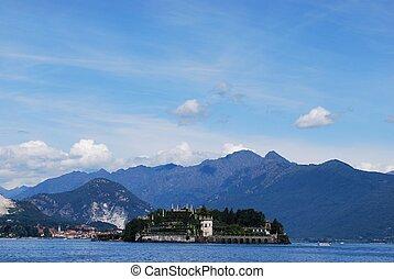 bella,  Isola, lago,  maggiore
