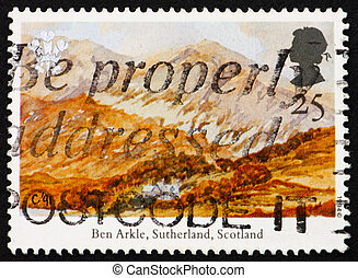 GREAT BRITAIN CIRCA 1994: a stamp printed in the Great...