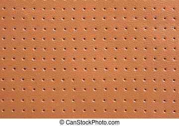 Natural decorated leather, for backgrounds or textures