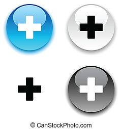 Switzerland button. - Switzerland glossy round vector...