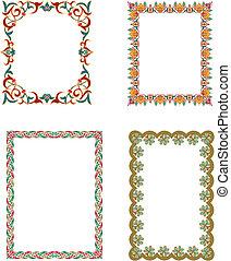 ornamental, marcos