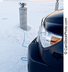 Block heater - Car or vehicle block heater