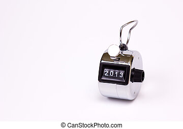 hand held tally counter - hand clicker counter at zero