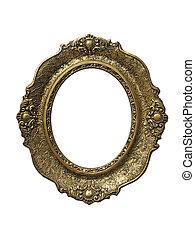 frame for gobelin isolated on white background