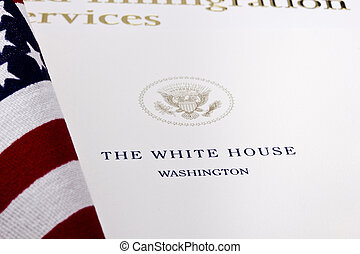 White House Seal - Photograph of a U.S. Department of...