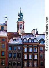 Warsaw, Poland. Old Town - UNESCO World Heritage Site.
