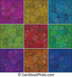Backgrounds mosaic with pattern