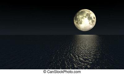 Moon Over Black Water