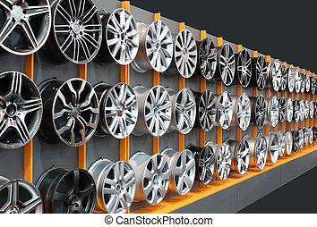 car aluminum wheels