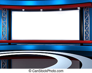 studio tv - background for Studio  tv chroma