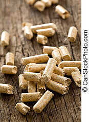 wooden pellet .ecological heating - the wooden pellet...