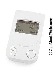 White detection device of radiation hazard on white...