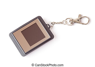 Modern trinket with liquid-crystal display.