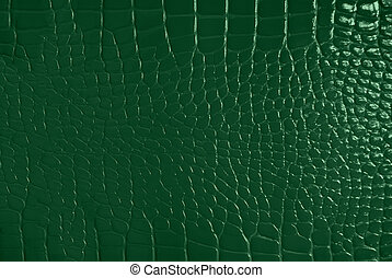 Green skin texture - Green leather texture embossed squares...