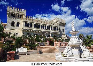4974 MANDATORICCIO, ITALY - JULY 31: Castello Flotta is...