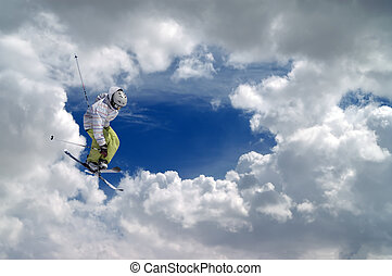 Freestyle ski jumper
