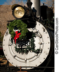 Steam Locomotive - Rio Grande Western 683 locomotive is...