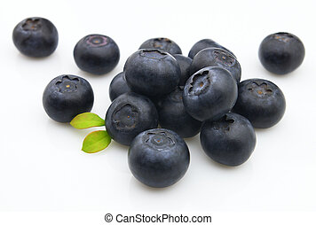 Fresh blueberry Use it for a health and nutrition concept