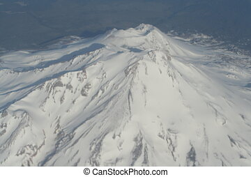Mt. Shasta - A bird%u2019s eye view TO see this would be...