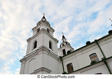minsk, 大教堂,  belarus, 基督教徒