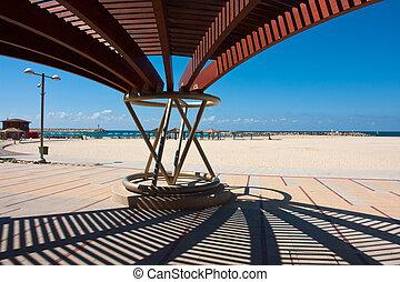 Modern beach pergola gazebo pavilion
