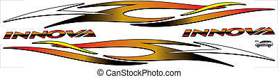 Design Vector Decal innova - this is the car decal designs...