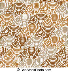 texture in warm colors - Vector seamless abstract...