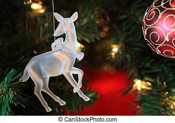 Attractive Christmas Tree Ornament adds interest for the...