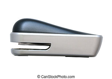 Stapler isolated on the white background