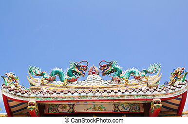 Dragon at Chines temple
