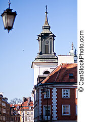Warsaw,  Old Town.  UNESCO World Heritage Site. Poland