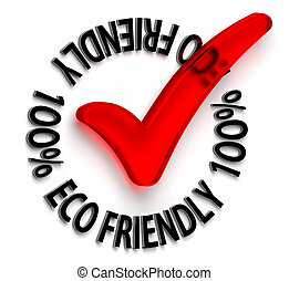 Eco Friendly - One hundred percent eco friendly. Part of a...