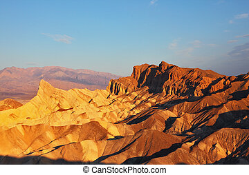The California - the Zabriski-point