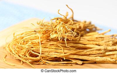 Chinese ginseng root