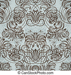 vector seamless vintage pattern - eps10, vector seamless...