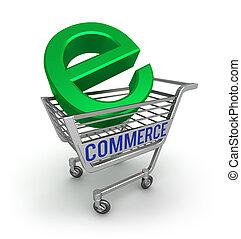 E-commerce 3D icon