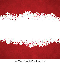 Christmas red background with copyspace. - Vector...