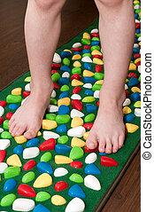 Orthopedic rug