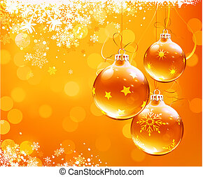 christmas abstract background - Vector illustration of...