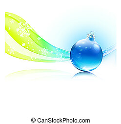 Christmas decoration - Vector illustration of abstract...
