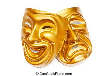 máscaras, teatro, concepto