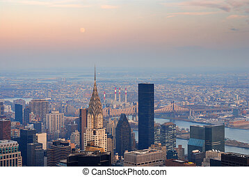 New York City Manhattan Chrysler Building - NEW YORK CITY,...