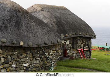 Thatched Cottage - Thatched cottage on the Trotternish...