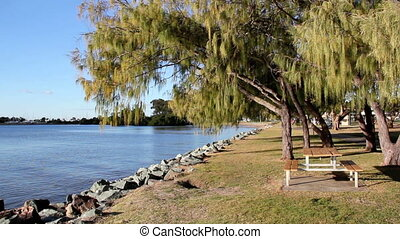 By The Water - A series of shots showing the tranquility of...